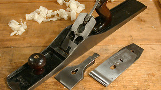 How to prepare your hand plane blade for use part 2 - Video