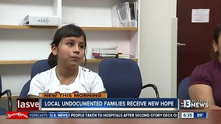 Local undocumented families receive new hope