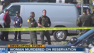 Woman murdered on Pala Reservation - Video
