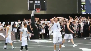 Klay Thompson EMBARRASSES America with Airball During Game in China - Video