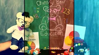 Learn your Colors with Chumsky Bear | Color Wheel | Art | Educational Videos for Kids