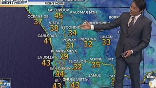 Robert's forecast for December 18, 2016 - Video