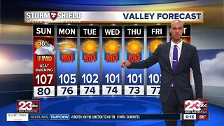 A chance for rain in Kern County?