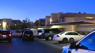 Woman shot in back by boyfriend near Fort Apache, Sahara - Video