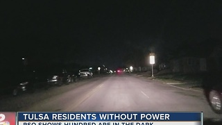 PSO: Hundreds without power in midtown Tulsa - Video