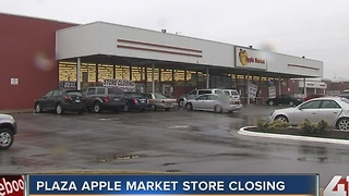 Plaza Apple Market store closing - Video