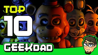 Top 10 insane facts about 'Five Nights At Freddy's' - Video