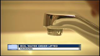 Kaukauna Utilities lifts boil, bottle water advisory - Video