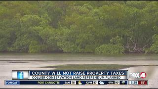 Collier County will not raise property taxes - Video