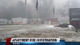 Person killed in Arbor Crossing apartment complex fire identified - Video