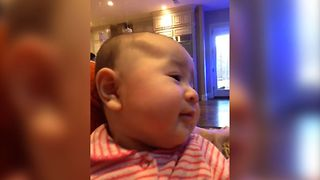 Baby's Never Ending Giggles - Video