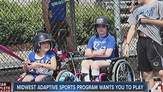 Midwest Adaptive Sports to hold Athletes on Wheels Sports Experience in Platte County - Video