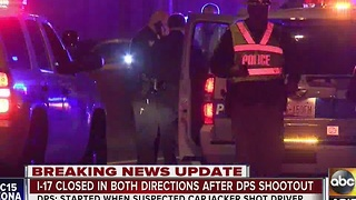 PD: 2 people in custody after officer-involved shooting on I-17 - Video