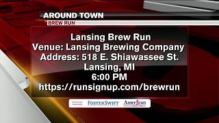 Around Town: 6/9/2017 Lansing Brew Run - Video