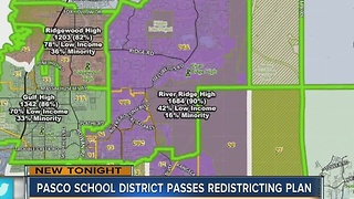 Pasco School District passes redistricting plan - Video