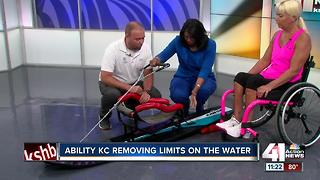Interview: Ability KC helping remove limits on the water for those with disabilities - Video