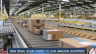 New email scam hopes to con Amazon shoppers - Video