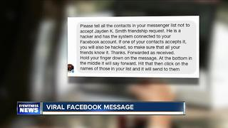 Facebook hoax hits WNY users - Video