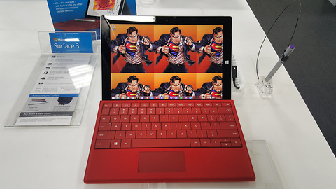 Microsoft Surface 3: Hands-on experience