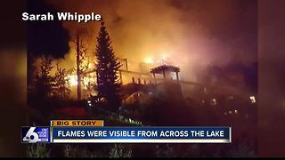 Four dead in cabin fire - Video