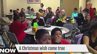 A Christmas wish come true - Video