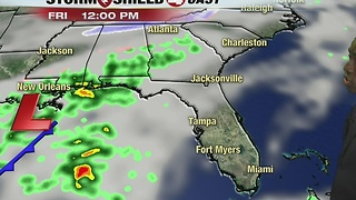 Strong Front Headed to SWFL - Video