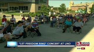 Hundreds gather for July 4th celebration at UNO - Video
