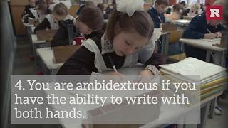 5 Facts About Your Handwriting | Rare Life - Video