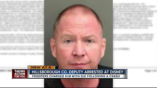 Hillsborough deputy arrested for DUI at Disney - Video