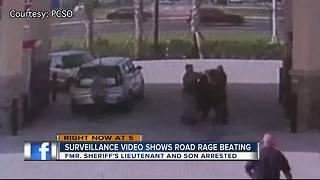 Former deputy, son charged with road rage