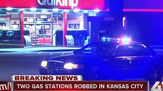 Police: 2 convenience stores in KCMO robbed at gunpoint overnight - Video