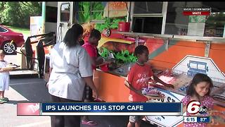IPS launches bus stop cafe - Video