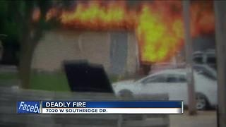 One dead after shed explodes in Greenfield - Video
