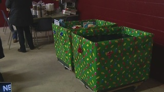 Drive-Thru toy donation drive benefits B.A.B.E.S., Inc. - Video