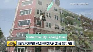 New affordable housing complex opens in St. Pete - Video