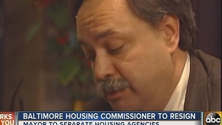 Baltimore housing commissioner Paul Graziano resigns - Video