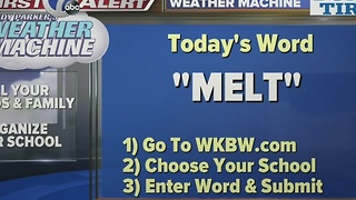 Andy Parker's Weather Machine Word 01-12-17 - Video