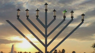 Menorah lighting celebration still on - Video