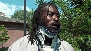 Injured man speaks out about bike safety after he and 4 others were struck by a car in Cleveland - Video
