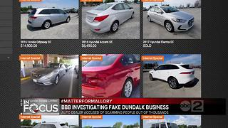 BBB: Fake Dundalk business scamming people out of thousands of dollars - Video