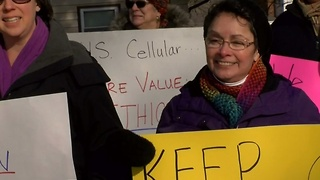 Demonstrators Protest Proposed Waukesha Cell Tower - Video