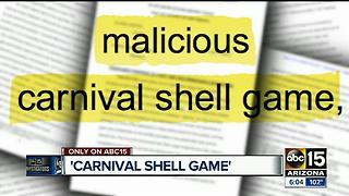 Federal judge: Serial suers operation is like a 'carnival shell game' - Video