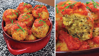 High-protein vegetarian meatballs - Video