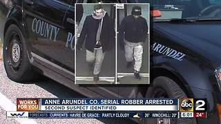 Serial robber arrested, second suspect identified - Video