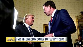 Legal Analyst: What to expect during former FBI director James Comey hearing before Senate committee - Video