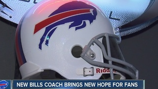 New Bills head coach brings new hope for many fans - Video