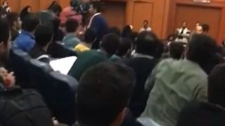 Student Day in Iran's University of Science and Technology - Video