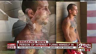 Person of interest turns himself in to police - Video