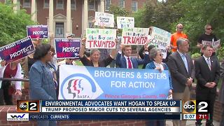 Environmental advocates want Hogan to join Climate Alliance - Video