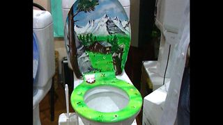 Man Invents Singing Toilet